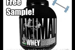 Free Sample of Universal Nutrition ANIMAL Whey!