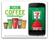 FREE 7-Eleven Coffee Every Wednesday in January!
