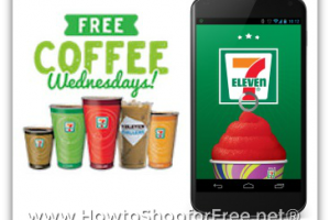FREE 7-Eleven Coffee Every Wednesday in February!
