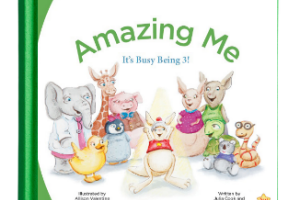 """Free Copy of """"Amazing Me It's Busy Being 3!"""" Book"""