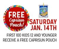 Kmart Freebie Saturday ~ Free Capri Sun Pouch!