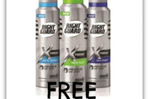 FREE Right Guard Xtreme Dry Spray ~ Must Buy by 2/28!