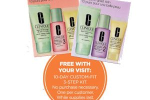 Free Clinique 3-Step Kit at Ulta ~ NO Purchase Required!