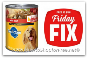 Kmart FREE Friday Fix ~ Snag a Can of Pedigree!