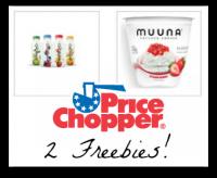 FREE Chobani Drink & Muuna Cottage Cheese @ Price Chopper!