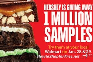 1/28-29: Free Hershey's Cookie Layer Crunch at Walmart!