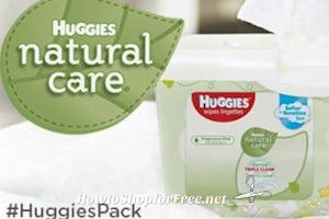 Free Huggies Natural Care Wipes Chatterbox Kit! *New!*