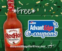 Free Frank's RedHot Sauce at Price Chopper!!