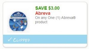 photo about Abreva Coupon Printable named Clean Printable Coupon**$3.00 off a single Abreva How toward Retail outlet For