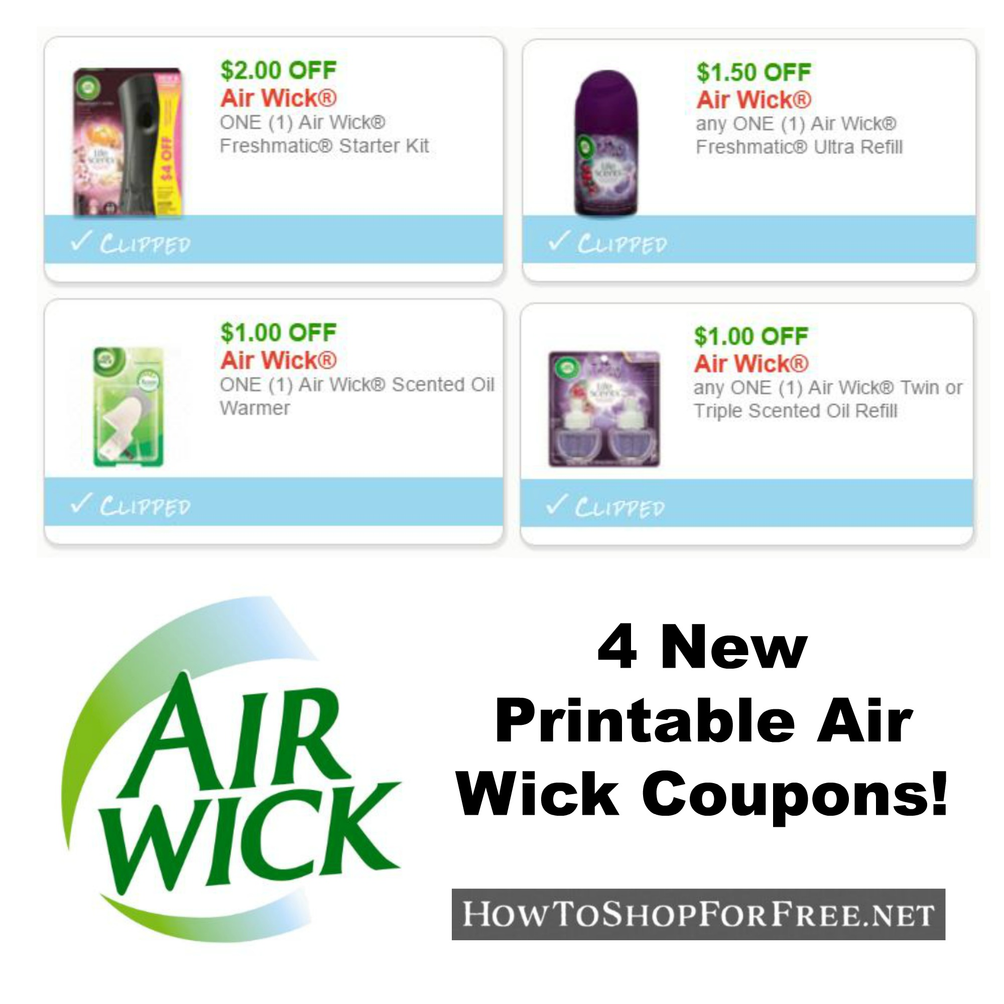 New Printable Coupons Four Air Wick Coupons Pre Clipped For You How To Shop For Free With Kathy Spencer