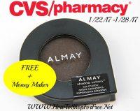 WOOHOO Free Almay Eye Shadow at CVS (1/22/17-1/28/17)