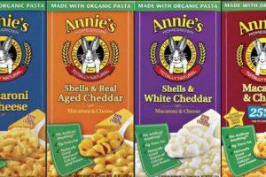 Annie's Mac & Cheese only 50¢