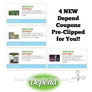 photograph about Depends Coupons Printable referred to as Refreshing Printable Discount codes** 4 Count Coupon codes Pre-Clipped for