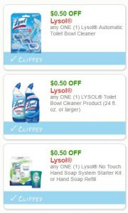 picture about Lysol Coupons Printable identified as Refreshing Printable Coupon codes** 3 Lysol Coupon codes Pre-Clipped for