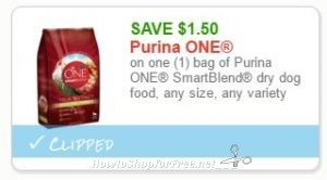 image regarding Purina One Printable Coupon identify Refreshing Printable Coupon** $1.50 off a single Purina A single Smartblend