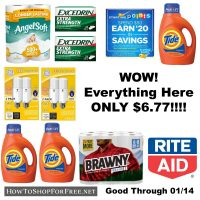 WOW! All 9 Items at Rite Aid for ONLY $6.77!!!!