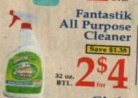 Scrubbing Bubbles All Purpose Cleaner $1.00 at Market Basket Starting 01/08!