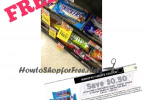 FREE Snickers Crispers at Shaw's