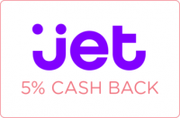 Earn 5% Cash Back on ANY Jet in-app purchase! *NEW*