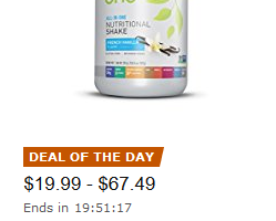 Up to 25% Off Vega Plant-Based Protein—Deal of the Day