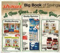 Shaw's Big Book of Saving's  1/5 -2/2