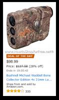 Bushnell Laser Rangefinder $99—Deal of the Day