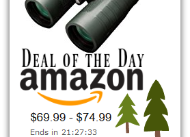 Save on Bushnell Binoculars and Trail Cameras—Deal of the Day
