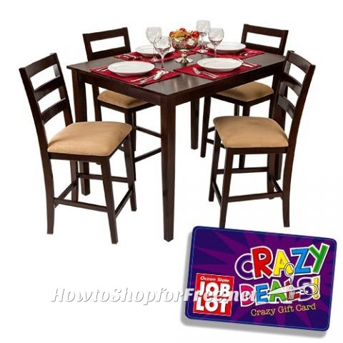 $100 Dining Set 5pc | How to Shop For Free with Kathy Spencer