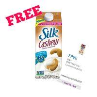FREE Silk Cashew Milk!!!
