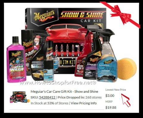 Meguiars Car Care Gift Kit Show And Shine