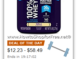 Up to 35% Off EAS Sports Nutrition—Deal of the Day
