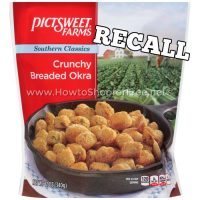 Pictsweet Farms Breaded Okra *RECALL* Due to Risk of Glass Contamination