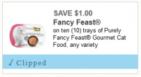 NEW $1/10 Fancy Feast Q + Last Day for Publix Deal!