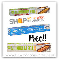 FREE Aluminum Foil from Kmart after 100% Back in Pts!