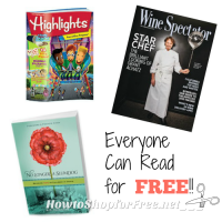 FREE Reads in Your Mailbox ~ Something for Everyone!