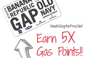 Earn 5X Gas Points!!