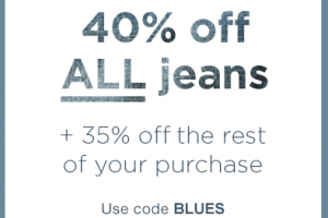 40% off ALL Jeans at GAP.com ~ Today Only!
