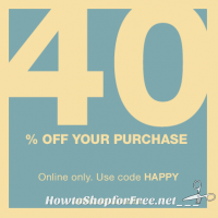 Last Day to Save 40% at GAP.com