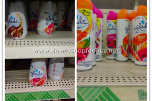 75¢ Glade at Dollar Tree, NO Paper Coupons Required!