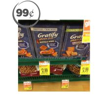 Gratify Crackers 99¢ at Shaw's