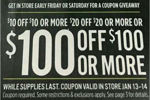 It's Back JCP $100 Off $100!!!!