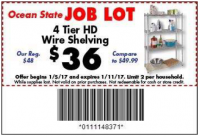 $36 Stockpile Shelf with Coupon @ Job Lot! (Jan 5-11)