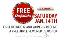 Today is Freebie Saturday at KMART!!