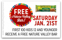 1/21: Kmart Freebie Saturday ~ FREE Nature Valley Bar!