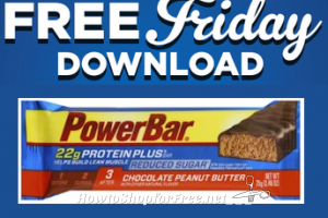 1/27 Free Friday Download ~ PowerBar Protein Bar