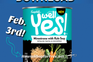 2/3: Free Campbell's Well Yes! Soup for Kroger+affiliates