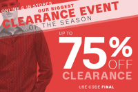 Lord & Taylor's BIGGEST Clearance Event of The Season!!