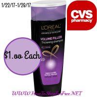 Wow $1.00 Loreal Shampoo conditioner at CVS (1/22/17-1/28/17)