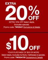 NEW Macy's Savings ~ Two Days Only! (1/15-16)