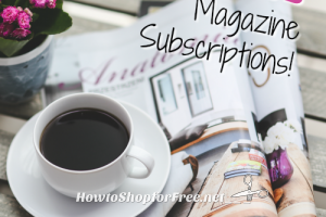 Thursday's FREE Magazine Subscription Roundup!